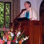 Dr. Dorothy Riddle presenting