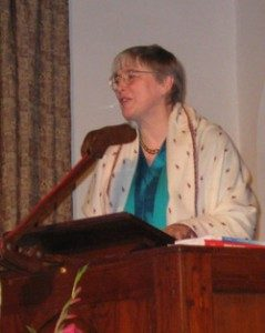 Dorothy Riddle, author of the Enough for Us All series of books